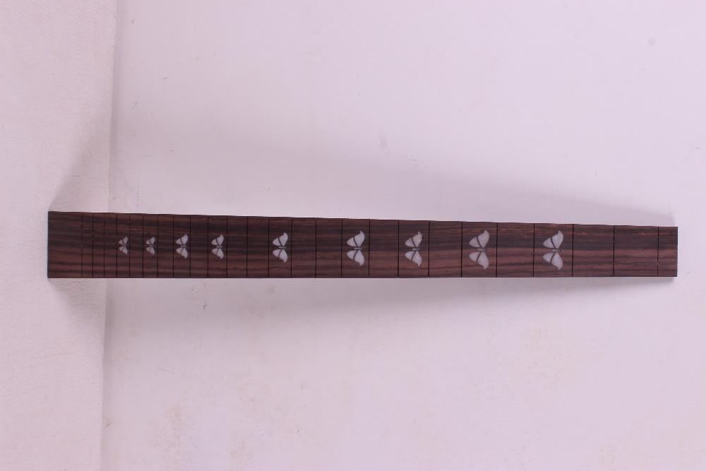 1 pcs Guitar Fretboard Fingerboard Fretless Guitar parts Dot inlaid Maple wood #26 acoustic guitar neck fingerboard fretboard for guitar parts replacement rosewood zebrawood veneer