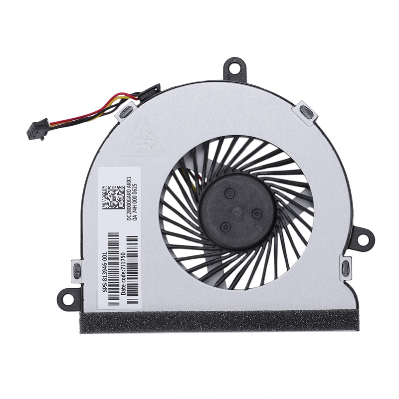 Laptop Cpu Cooling Fan For Hp Notebook Hp 15-Ac 15-A 15-Af 250 G4 15-Ac121Tx 15-Ac121Dx 813946-001 Dc28000Gaf0Fcc2 Dfs561405Fl