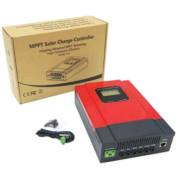 ESmart3 20A 30A 40A 60A MPPT שמש מטען Controller 12 V 24 V 36 V 48 V עבודה אוטומטית LCD תצוגת מקסימום 150 V קלט RS485 תקשורת