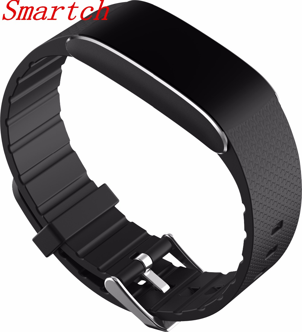 Smartch A86 Heart Rate Blood Pressure Watches Pulse Monitor Smart Band Fitness Bracelet Activity Tracker Wristband Ped