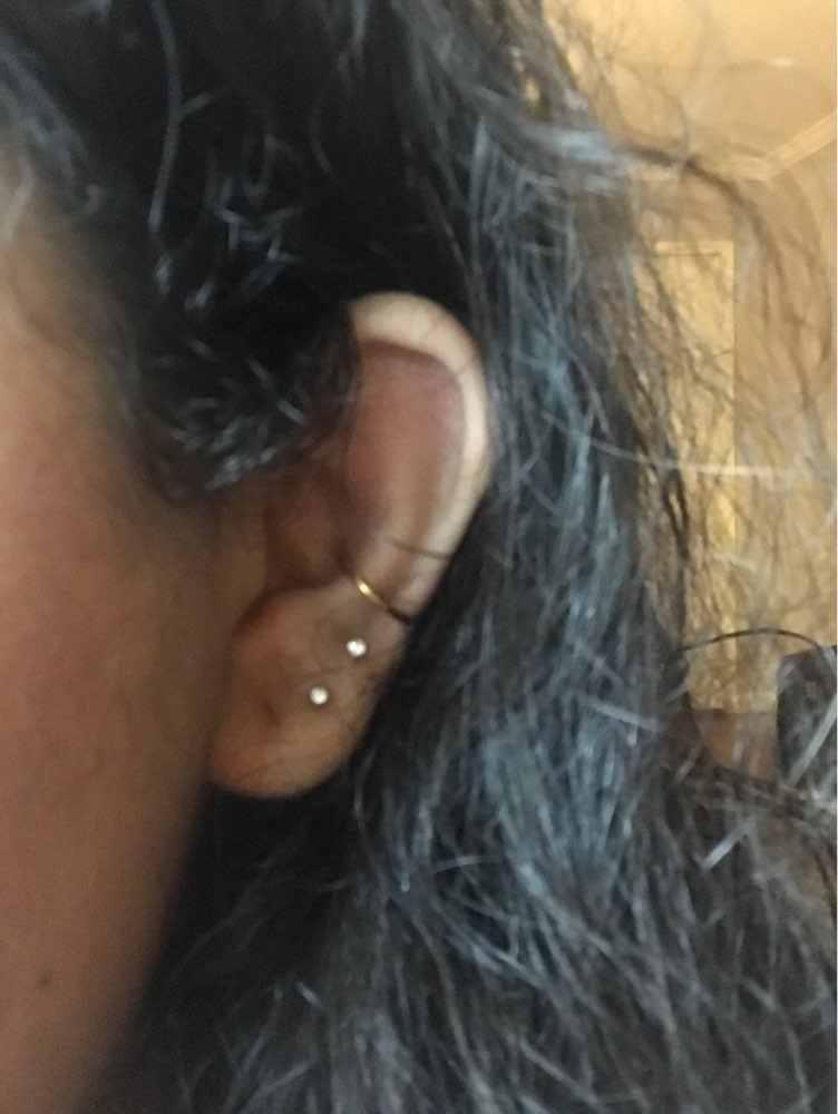 G23titan 18G צירים קטע חלקה טבעת לאף אוזן מחץ פירסינג חישוק האף הרבעה טבעות גנרי גוף Pircing תכשיטים