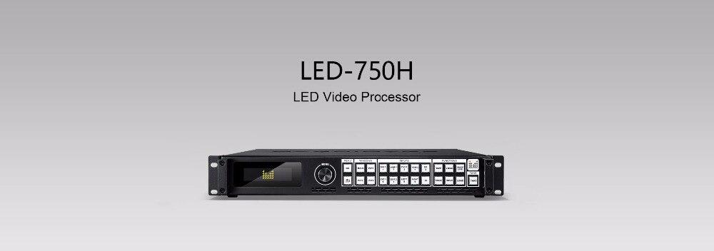 LED-750H MAGNIMAGE processador de vídeo LEVOU led750h Única máquina Suporta 2 Telas Splicing 2 Múltiplas saídas independentes cascad