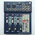 Mini Audio Mixer F4 Pequeno Mesa De Mistura de 4 Canais