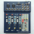 Mini Audio Mixer F4 Small Mixing Console 4 Channel