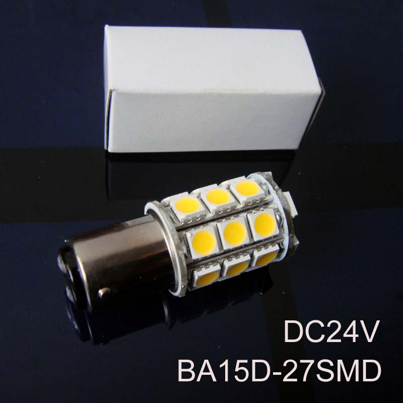High quality 5050 12/24VAC/DC 5W BA15D led Yacht Boat Ship lamp Bulbs,1142 24V led Warning Signal lights free shipping 5pcs/lot