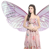 Dream wings, COSPLAY butterfly wings, angel props, transparent fairy wings, performance props