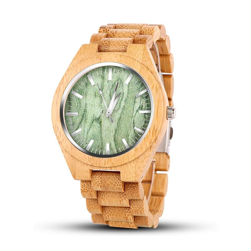 Lovers' Fashion Wood Watch Women Men Wooden Watch Luxury Full Wood Men's Women's Watches Clock Saat Reloj Hombre Reloj Mujer