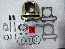 Haute Performance 50 mm Big Bore Kit cylindre 100cc Scooter GY6 100cc 139QMB 139QMA moteur chinois Scooter moto pièces