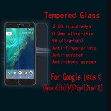 5 шт./лот FENGHEIMEI закаленное Стекло протектор для Google Nexus 5 6 5 х 6 P пикселей 2 Pixel XL 2 3 XL 2XL 3XL Pixel 3A XL