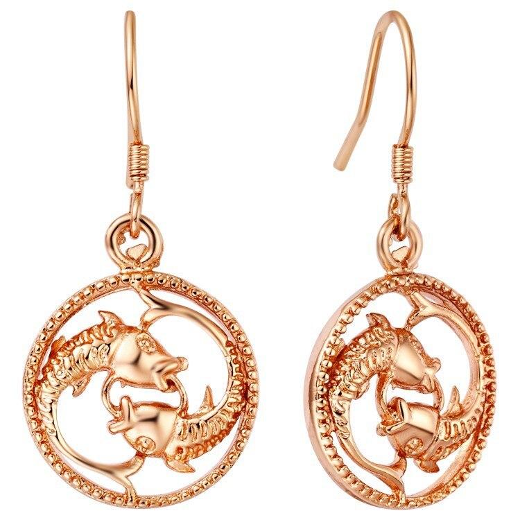 Aliexpress Com Buy 12 Zodiac Signs Constellation: Aliexpress.com : Buy 12 Zodiac Rose Gold Necklace Aries