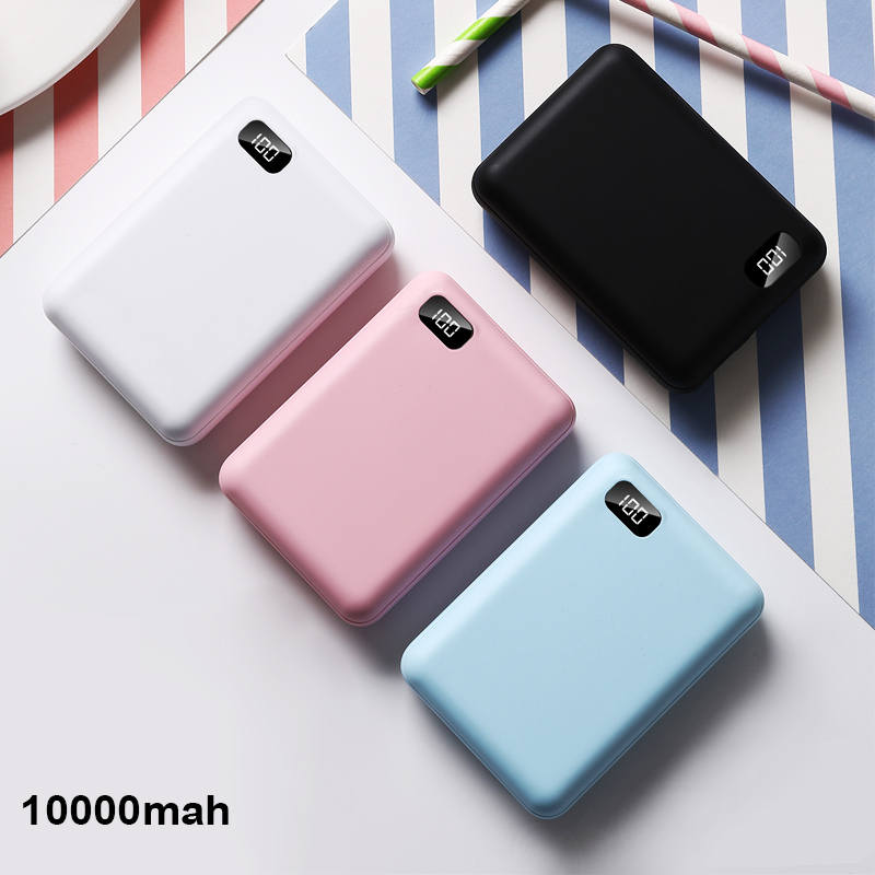for <font><b>xiaomi</b></font> power bank portable charger <font><b>2</b></font> USB Type C Mini Power Bank <font><b>10000</b></font> <font><b>mAh</b></font> <font><b>Powerbank</b></font> For iPhone External Battery Poverbank image