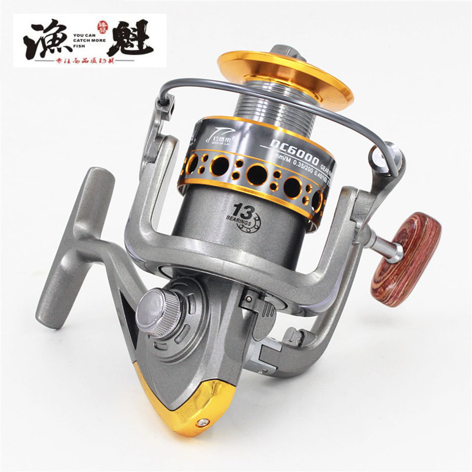Yukui New Fishing Coil Wooden Handshake 12+ 1bb Spinning Fishing Reel Professional Metal Left/right Hand Fishing Reel Wheels Ample Supply And Prompt Delivery
