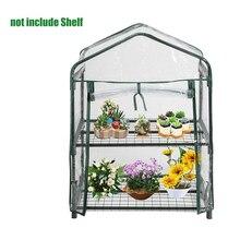 92x49x69 см мини сад зеленый дом Водонепроницаемая теплица растения и цветы ПВХ пластик без железной подставки