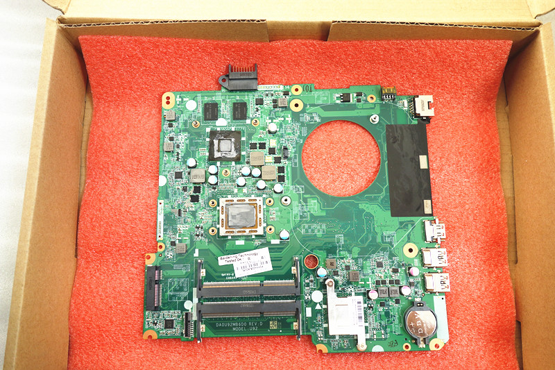 737138 501 for HP PAVILION 15 15 N15Z N100 laptop motherboard DA0U92MB6D0 REV D 737138 001