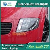 JGD Фирменная Новинка Стайлинг для Audi TT светодиодные фары 1999 2005 фар Биксеноновые голову светодиодные лампы ДРЛ Освещение