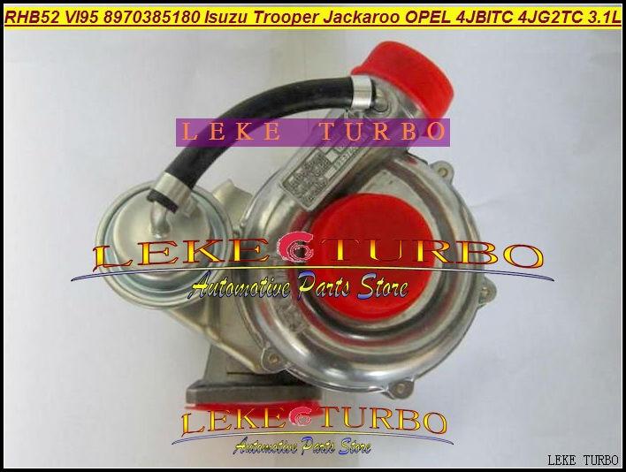RHB5 VI95 8970385180 8970385181 VA180027 Turbo Turbocharger For ISUZU Trooper For Opel Monterey 4JB1T 4JB1TC 4JG2TC 4JG2 3.1L