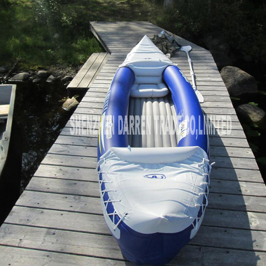 New Arrival Aqua marina 1 + 1 preson inflatable kayak sport canoe 292 * 80 cm Canoe Inflatable boat playing water toys aqua aspid new