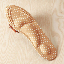 Women Feet Care Massage High Heels Sponge 3D Shoe Insoles Cushions Pads DIY Cutt