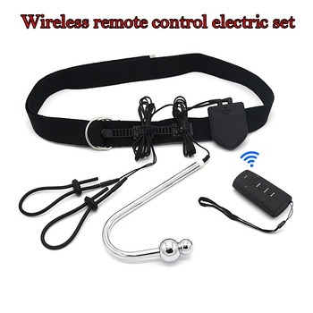 Electro Sex Electro Shock Anal Plug Wireless Remote Control Anal Hook Electro Penis Stimulation Penis Ring Butt Plug For Man фото