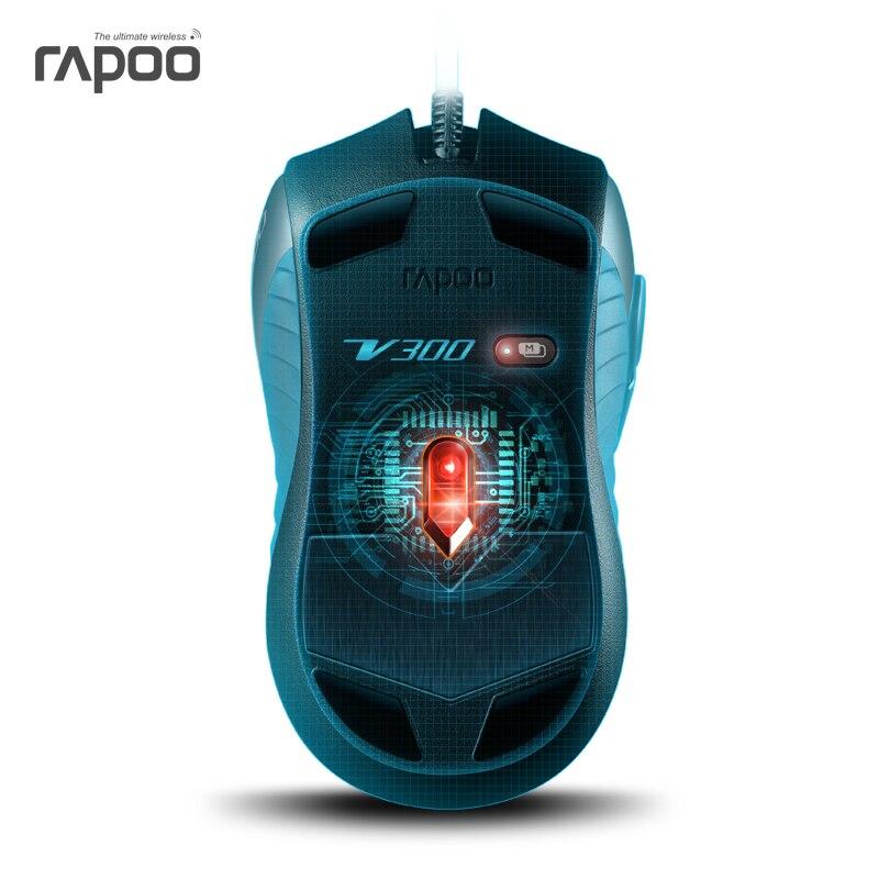 Aliexpress.com : Buy Original Rapoo V300 4000DPI gaming mouse, USB ...