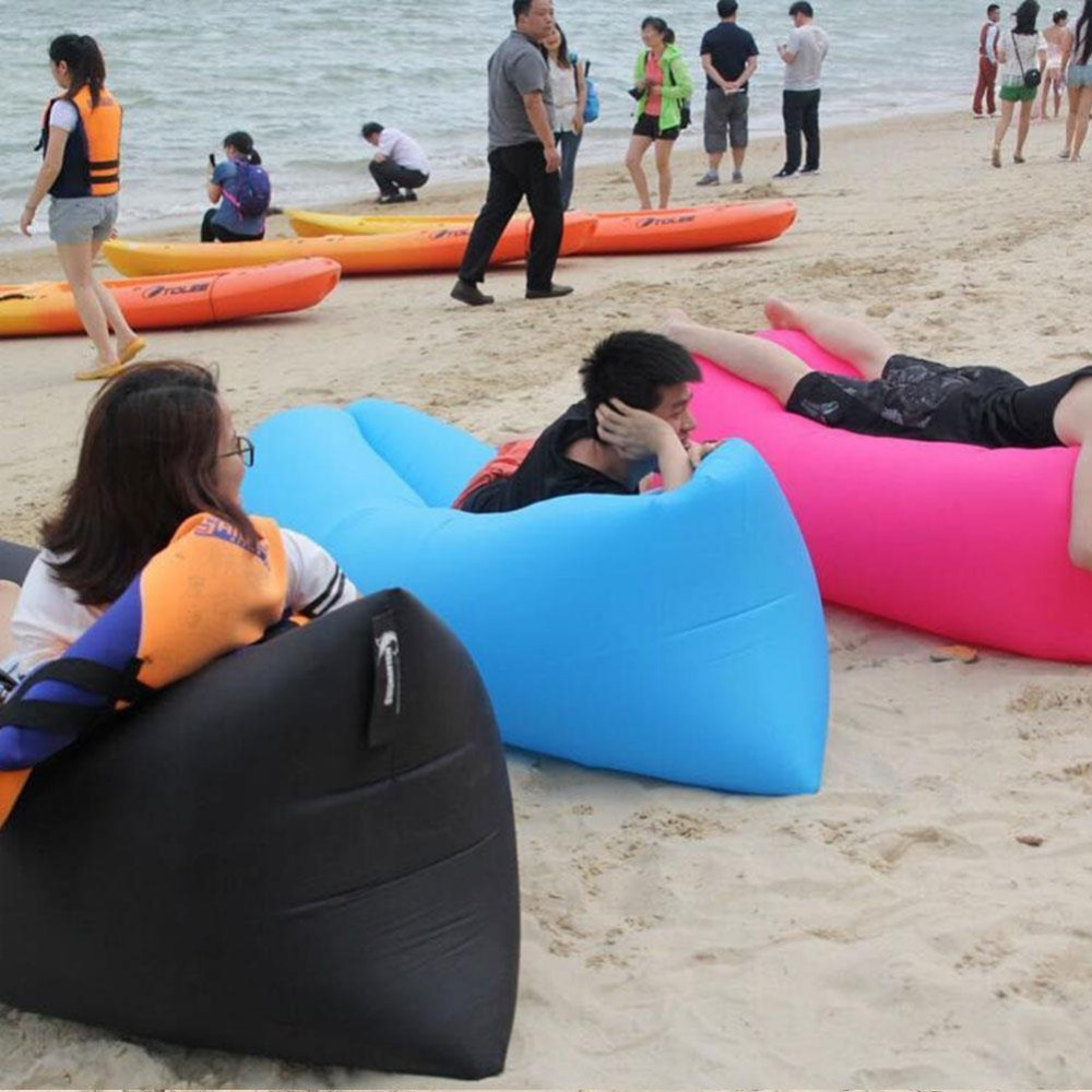 inflatable outdoor furniture. aliexpresscom buy lounge sleep bag lazy inflatable beanbag sofa chair living room bean cushion outdoor self inflated furniture from n
