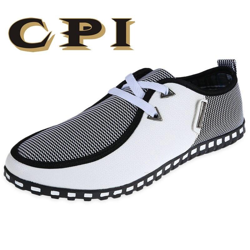 CPI Moda Scarpe di Guida Degli Appartamenti Degli Uomini Slip On Mocassini italiani Uomini Piatto Casual Scarpe Zapatillas Hombre Big size 39-47 ZY-16