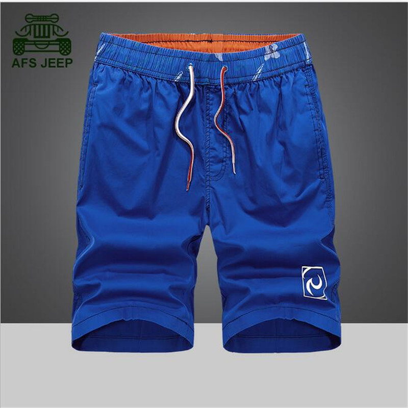 China AFSJEEP MALL AFS JEEP 2017 Summer Candy Color Cotton Made Leisure Shorts Wholesale Price High Quality Solid Good Quality Breathe Comfortable