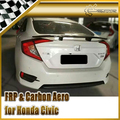 Car-styling Carbon Fiber Rear Spoiler Trunk Wing Fit For Honda 10th Generation Civic FC KG-Style