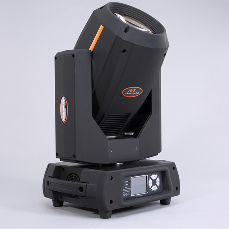 Nice effect touch screen display 350w 17r beam moving head light sharpy dmx dj stage lights for wedding double prism lcd display