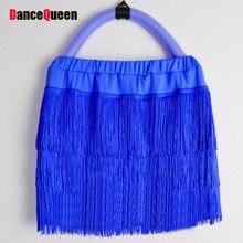 Women/Girl Latin Dance Skirt Cha Cha/Rumba/Samba/Salsa/Ballroom Dance Wear 8colors Vestido De Baile Latino Skirt Dance DQ4052
