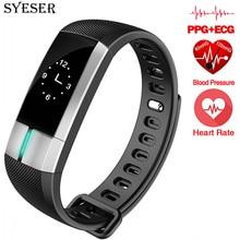 SYESER G20 bande À Puce Surveillance ECG Bracelet Sang Pression Fitness Tracker Activité Bracelet Pulsometro PK Xiomi mi bande 2