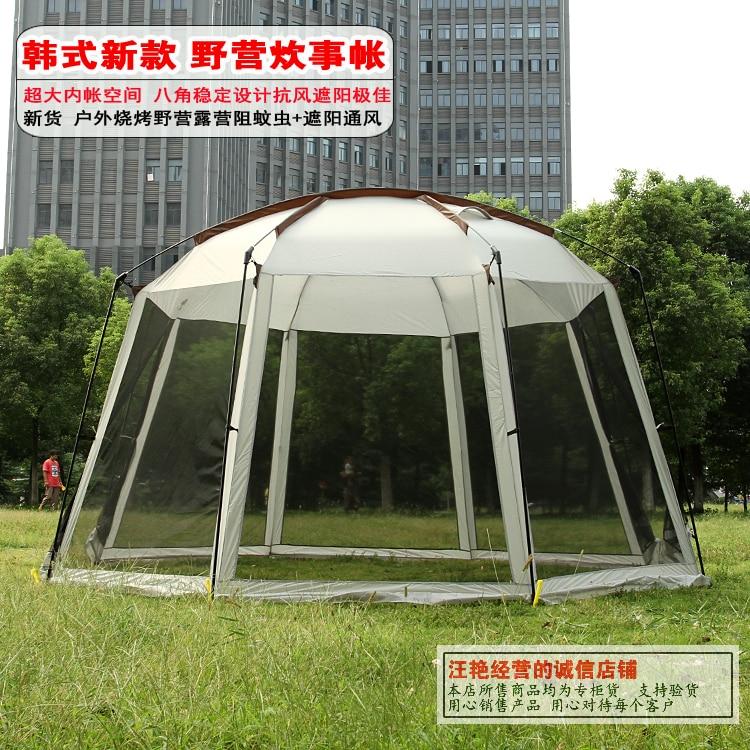 Здесь можно купить  5-10 person ultralarge high quality new style large size camping tent big sun shelter 5-10 person ultralarge high quality new style large size camping tent big sun shelter Спорт и развлечения