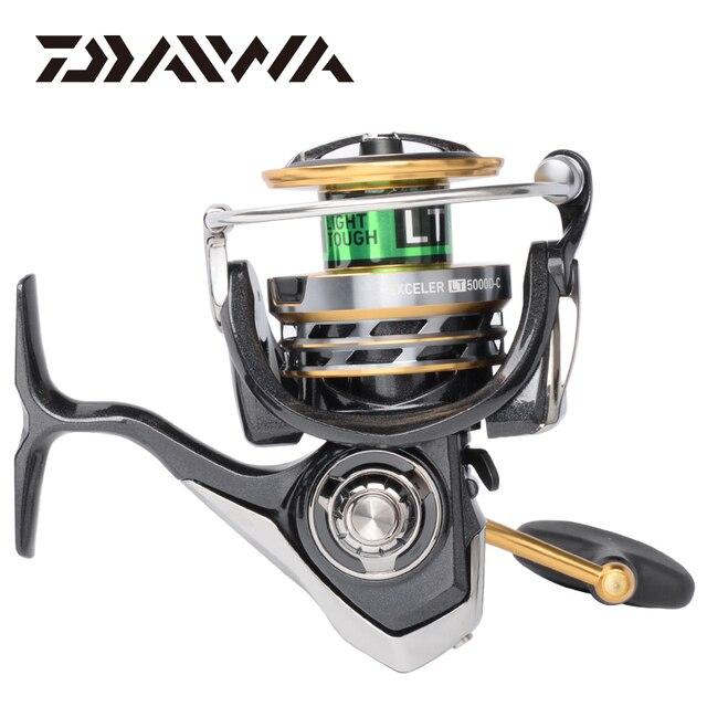 DAIWA EXCELER LT Spinning Angelrollen 2000S XH/2000D XH/2500D XH/3000 CXH/4000D CXH/5000D CXH/6000D H Getriebe verhältnis 5.7:1/6.2:1