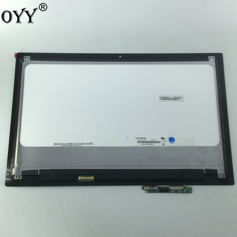 "13.3"" N133HSE EA1 1920*1080 30pins Lcd Display screen Matrix replacement repair For Dell Inspiron 13 7000 Series 7347 7348 P57G"