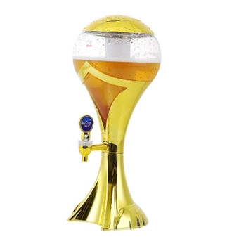 XMT-HOME beer dispenser beer bottle party drinks accessories beer bucket wine column colorful luminescent can 1.5L