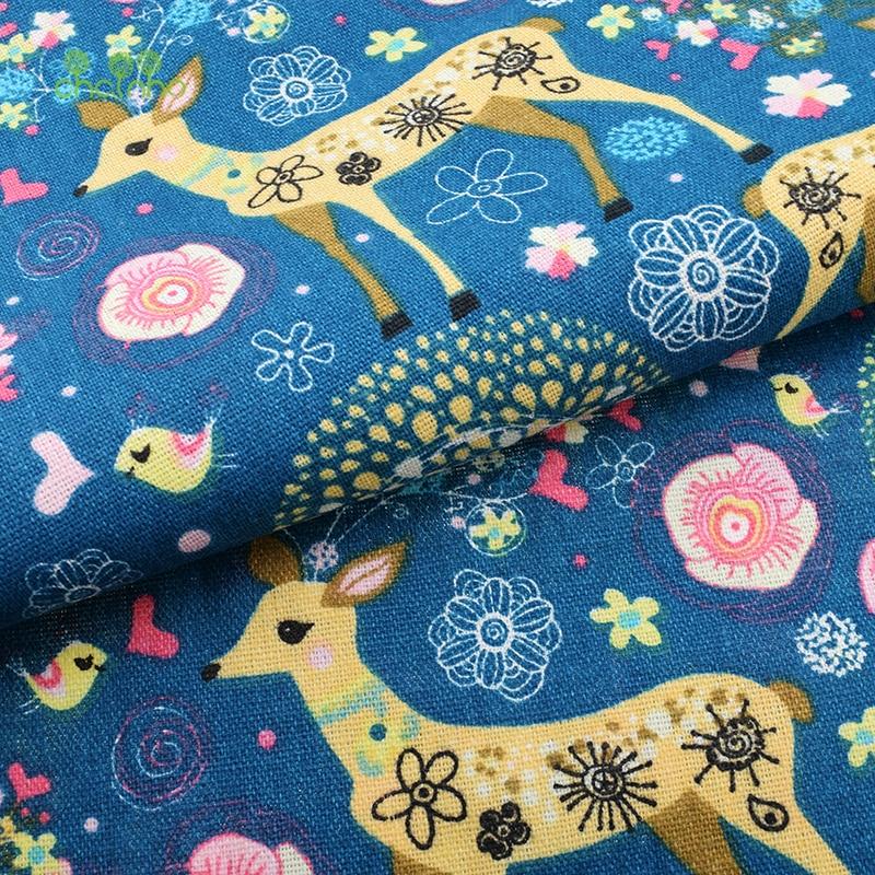 Tiskana pamučna platna tkanina za patchwork prošivanje šivanje DIY - Umjetnost, obrt i šivanje - Foto 4