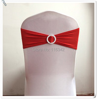 20pcs Red Wedding Chair Cover Sash Christmas Decorations For Home Banquet Party Decoration Marious
