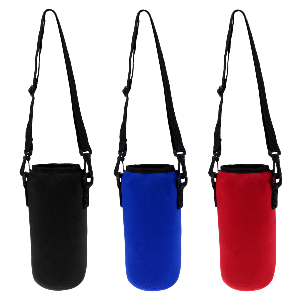 Perfeclan Sports Water Bottle Insulated Bag Neoprene Pouch Holder Sleeve Carrier