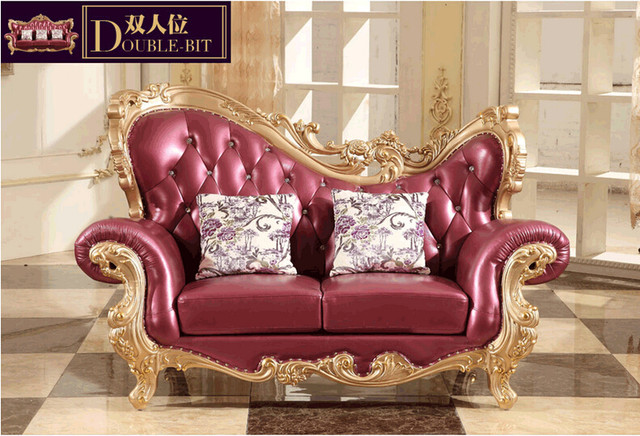 Royal Style Furniture Luxury Classic European Sofa Set 0409
