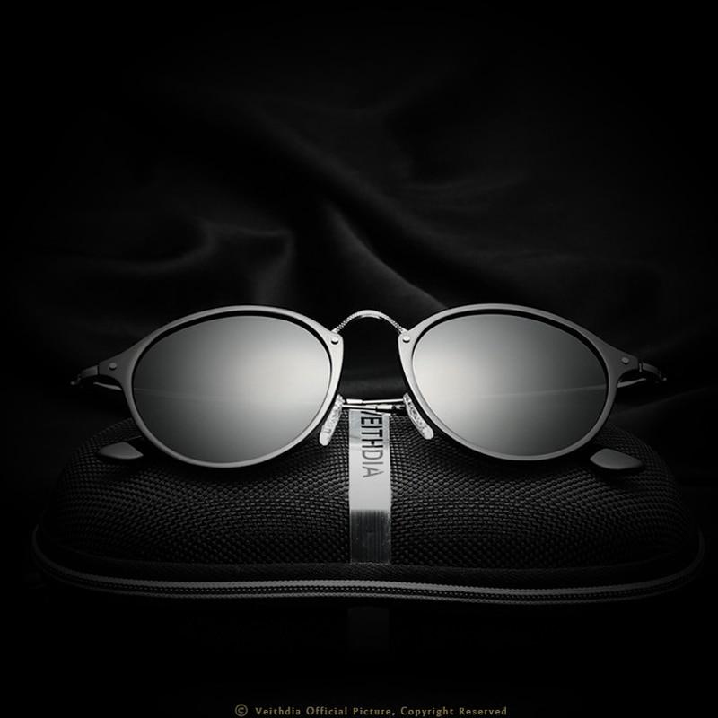 Fashion Unisex Sun Glasses Polarized Coating Mirror Driving Sunglasses Round Eyewear For Men//Women