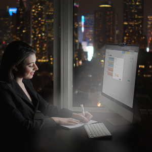 Image 4 - 1 Pc 5V Usb Led Dimbare Tafellamp Monitor Laptop Screen Zachte Verlichting Lichtbalk Oogbescherming Lezen Dimmer clip On Desk Lampen
