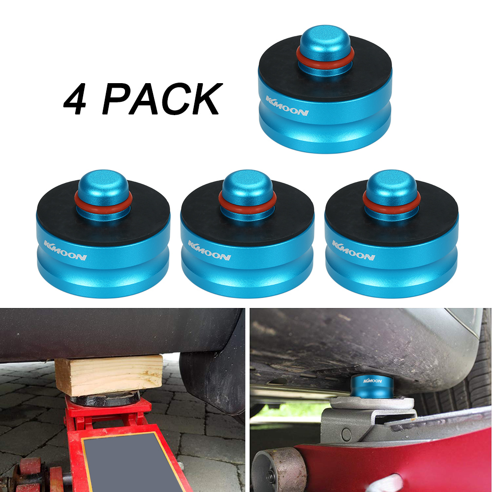 KKmoon Jack Lift Point Pad Adapter Jack Pad Tool Chassis Dedicated 4pcs for Tesla Model 3