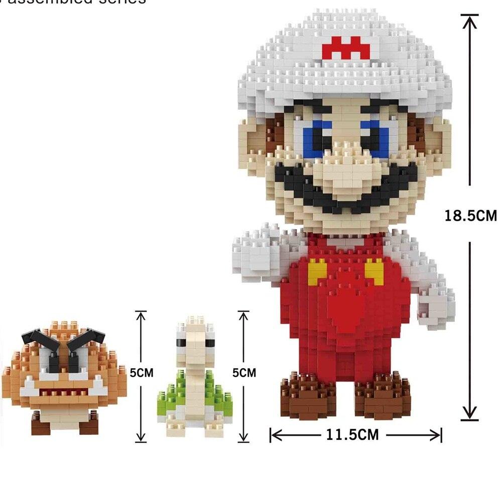 Balody bloques pequeños edificios educativos juguete Mario subasta ...