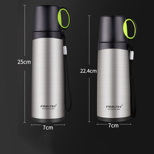Image 1 - PINKAH Thermos Bottle 420ml 520ml Stainless Steel Vacuum Flask Travel Coffee Thermo Mug School Insulated Bottle Home Thermo Cup