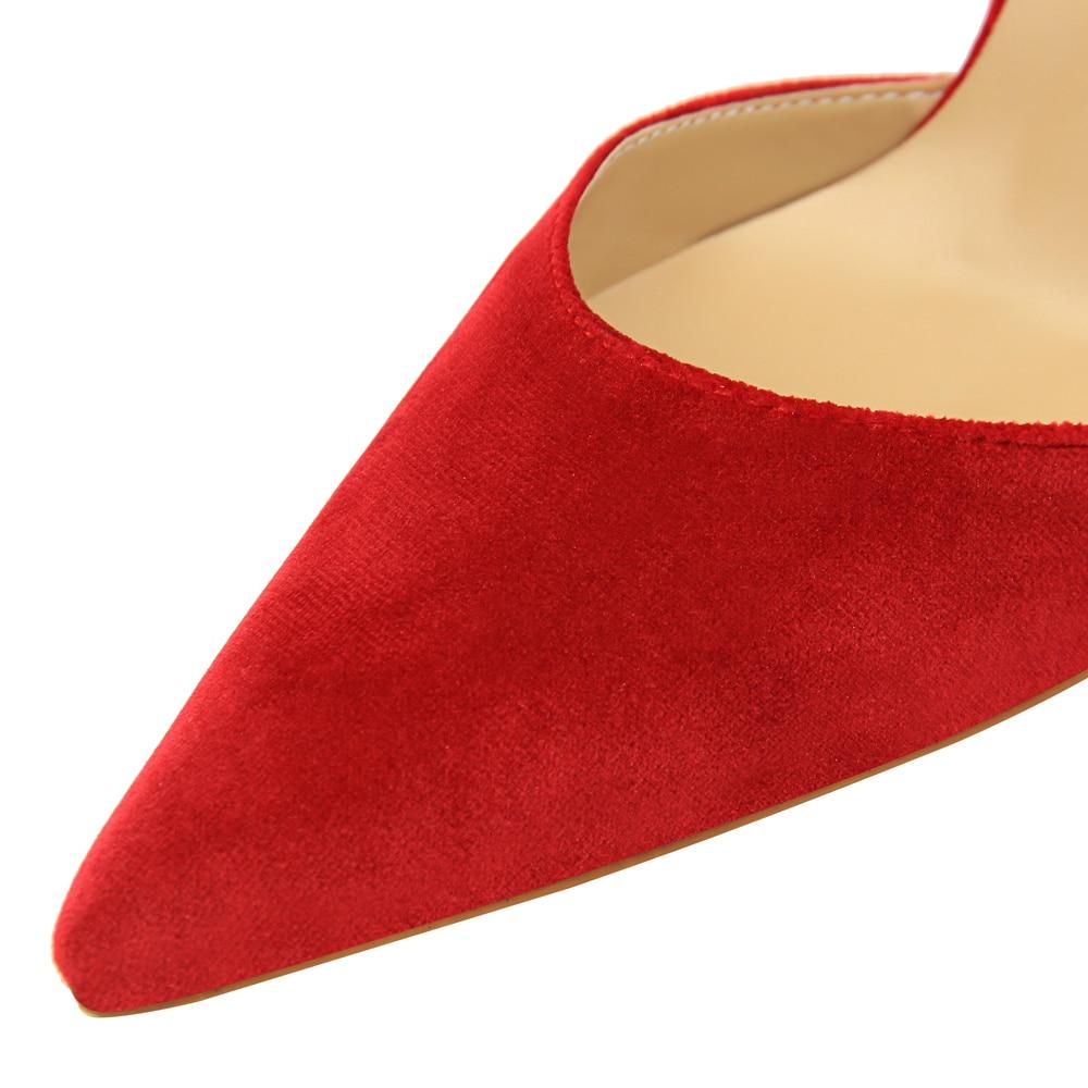 rosado Alto Palabra Tacón verde amp; rojo Negro vino Hebilla Zapatos Altos Nueva Tacones Mujer Henlu} naranja Una De Rebaño Damas Tinto Stiletto {d HpxqwfS6q