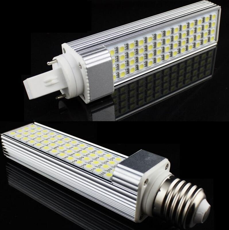 10W PL LED G24 5050smd Spotlight G24d E27 LED Lamp Corn Light PLC Lighting 110v 120v 220v 230v 240v Equal 100W Halogen Lamp