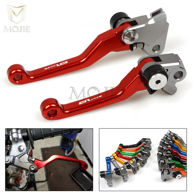 For Honda CR125R CR250R CR 125 250 R CR125 CR250 R CR 125R 250R 1992-2003 2002 2001 2000 CNC Pivot Brake Clutch Levers Dirt Bike