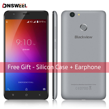 Freies Fall Blackview E7S smartphone MT6580 Quad Core Android 6.0 Handy 5,5 zoll 2 GB + 16 GB 8MP handy Fingerabdruck ID