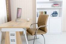 Cadeira do computador de escritório cor marrom preto assento sala de estudo sala de estar mobiliário fezes cadeira loja frete grátis