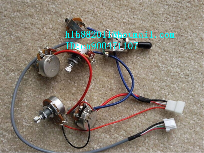 free shipping new  E electric guitar  electronic circuit  Plug line XL-8226 free shipping new active and passive electric bass guitar pickup electronic circuit xl 3